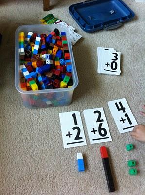 math center ideas,