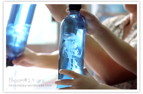 jellyfish in a bottle
