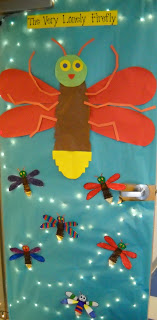 eric carle back to school door decor