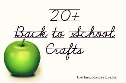 Back to School Crafts & Ideas