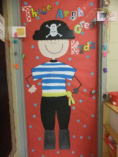 back to school door decor