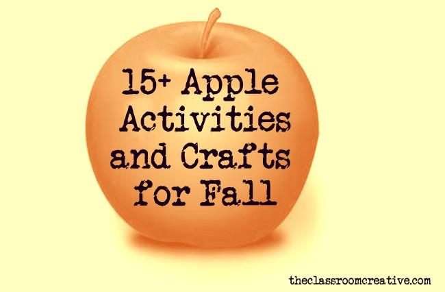 Apple Activities Crafts