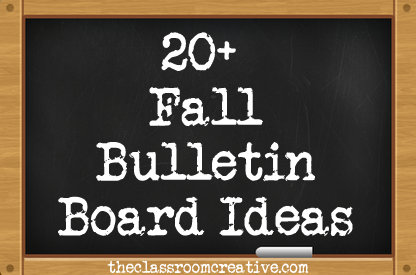 autumn bulletin boards