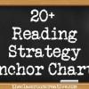 Reading Strategy Anchor Chart Ideas