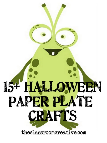 halloween paper craft ideas paper plate craft ideas 4617