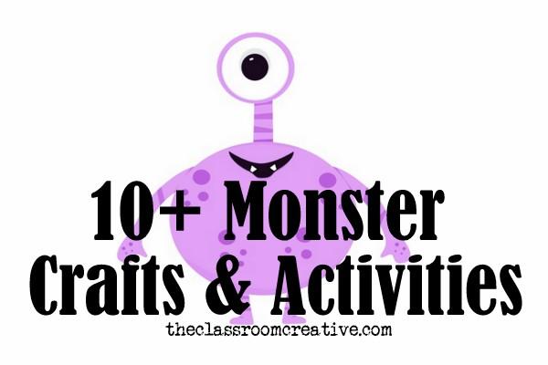 Monster Crafts Activities