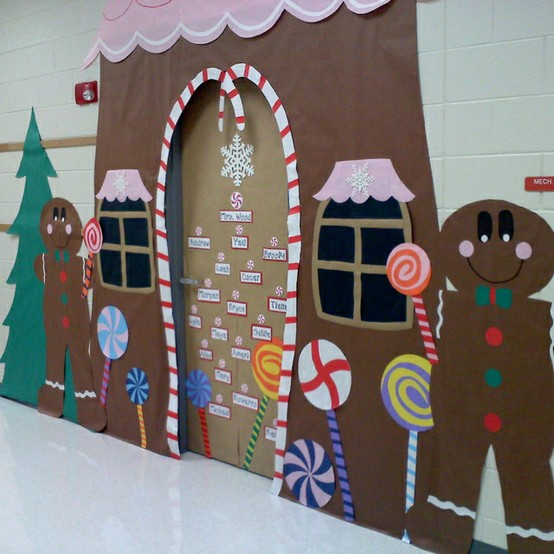 Singing ... - Christmas Bulletin Boards & Door Decorations