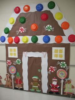 Christmas Bulletin Boards Amp Door Decorations