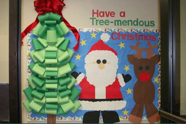 Christmas Bulletin Boards Door Decorations