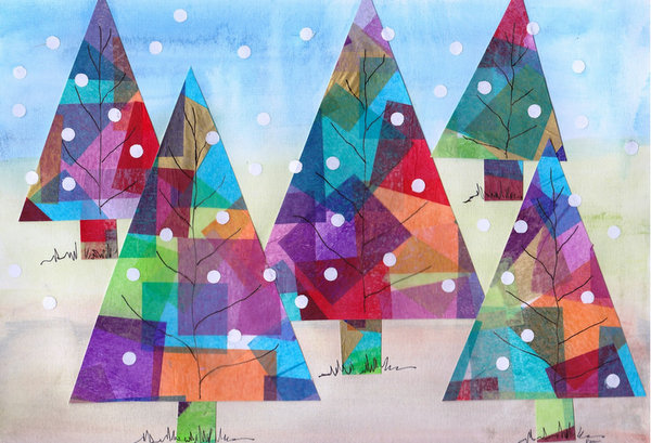 great texture in this first bulletin - Christmas Bulletin Board Decorations