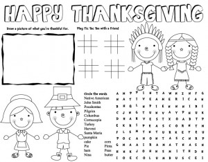 Thanksgiving Crafts For Kids To Make Printable