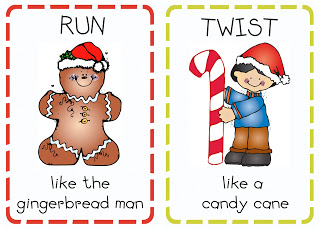 preschool christmas literacy