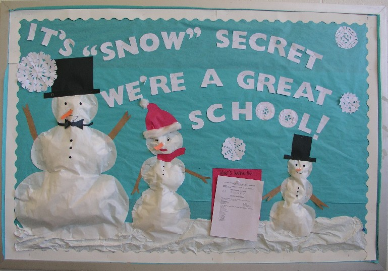 wonderful Winter Bulletin Board Ideas For Teachers Part - 5: ... Education Bulletin Board Ideas. Falling into Winter via Becoming a  Teacher