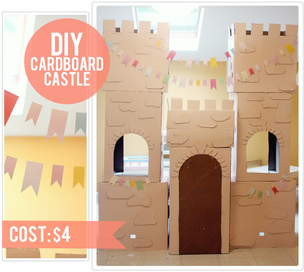 cardboard house crafts for kids