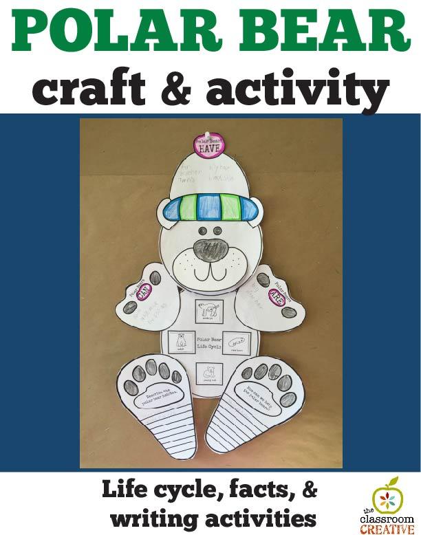 polar bear unit ideas graphic organizer