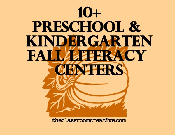 thanksgiving literacy activities for kindergarten