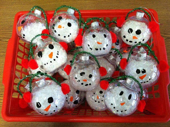 kids craft ornaments