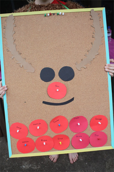 photo regarding Pin the Nose on the Reindeer Printable named Reindeer Craft and Routines