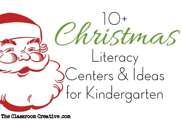 Christmas Literacy Centers Activities