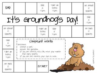 groundhogs day literacy activities