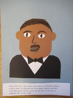 Martin Luther King Jr Crafts For Kids