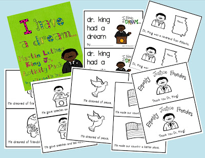 Martin Luther King Unit Resources Kindergarten 2nd Grade