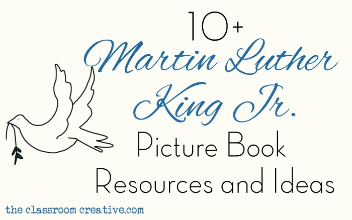 Martin Luther King Jr Picture Books With Activities