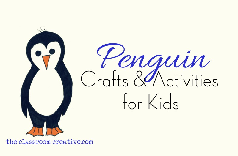 image relating to Penguin Template Printable named Penguin Crafts and Game Options