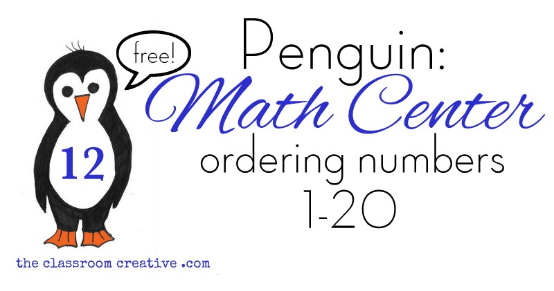 penguin unit ideas math centers preschool kindergarten first grade