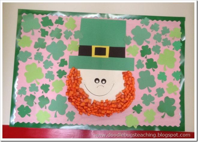 St Patrick S Day Bulletin Boards