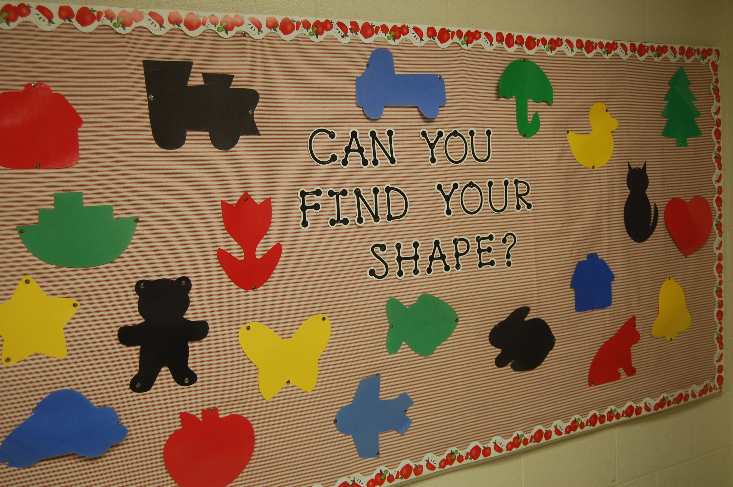 Shapes Bulletin Boards