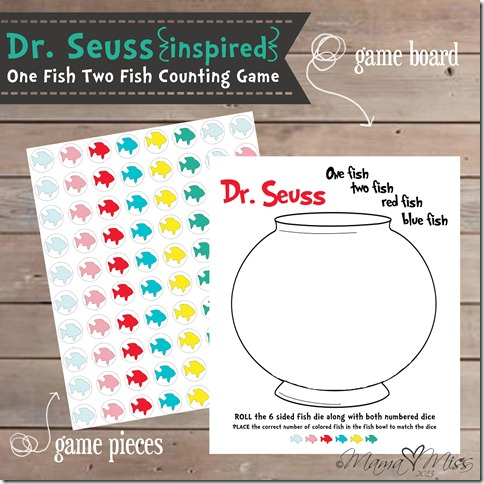 dr seuss red fish blue fish words