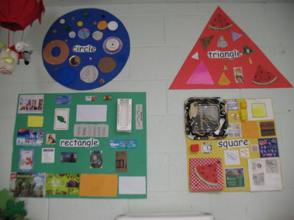 bulletin board shapes