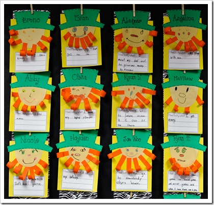 St Patrick S Day Literacy Activities For First Grade