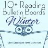 Reading Bulletin Board Ideas for Winter