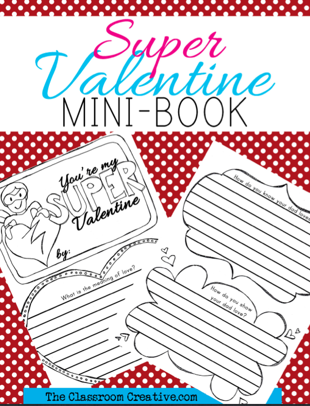 Valentine's Day Literacy Activities For First Grade