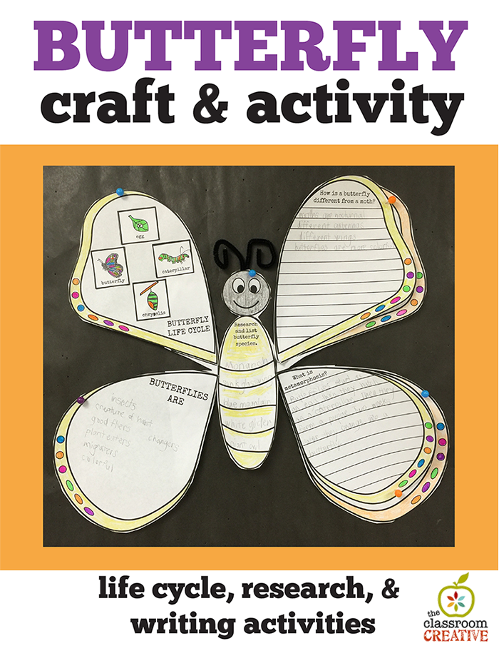 spring science butterfly sctivity