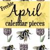 April Calendar Pieces {FREEBIE}