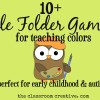 File Folder Games for Teaching Colors