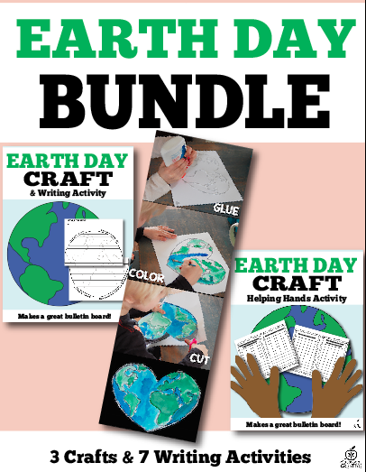 earth day writing and art activities