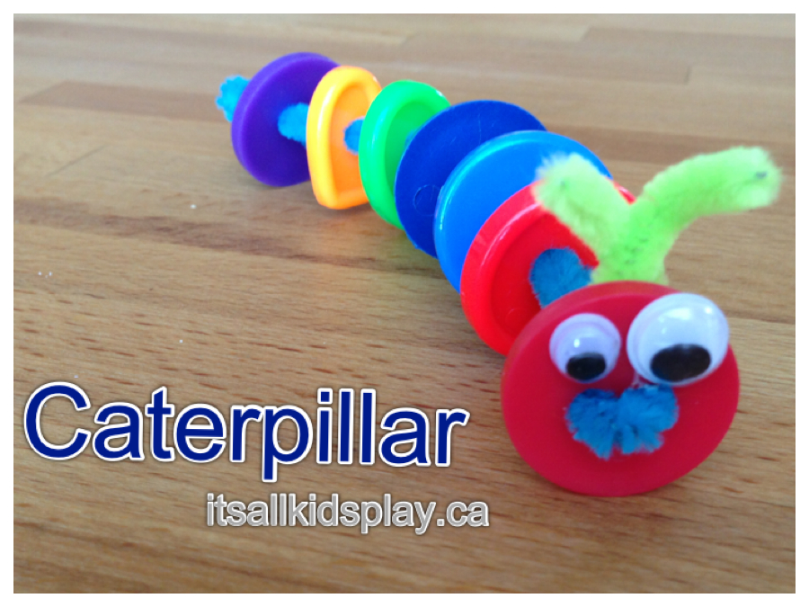 Caterpillar Crafts Activities For Kids