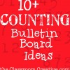 Counting Bulletin Boards Ideas