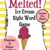 Ice Cream Sight Word Game- Common Core Aligned