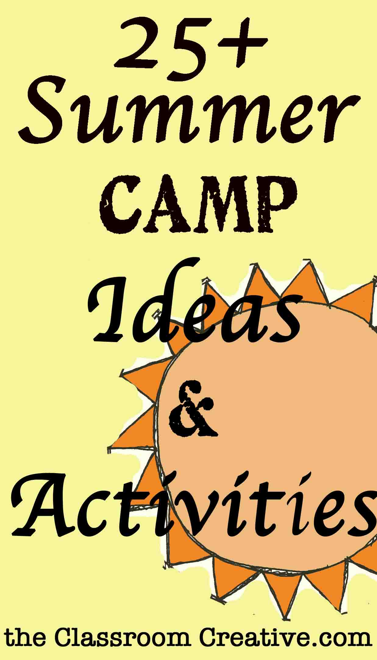 camp theme ideas & activities