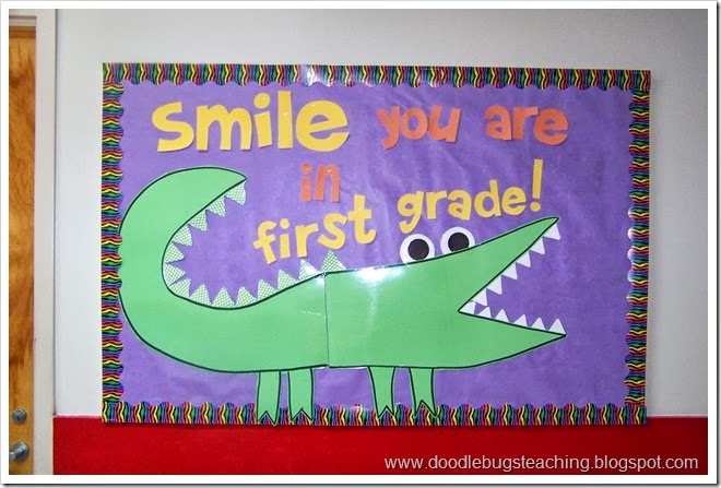 back to school bulletin boards