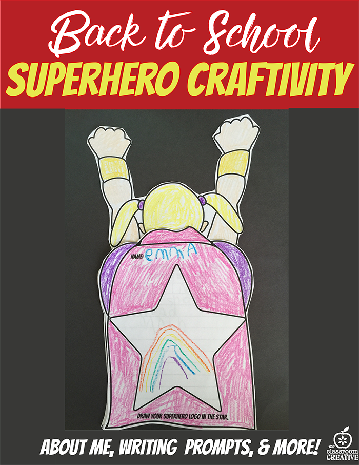 back to school superhero idea themed classroom bulletin board