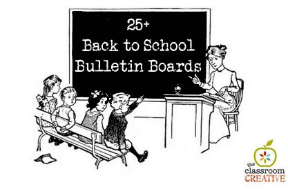 back to school bulletin board ideas for teachers