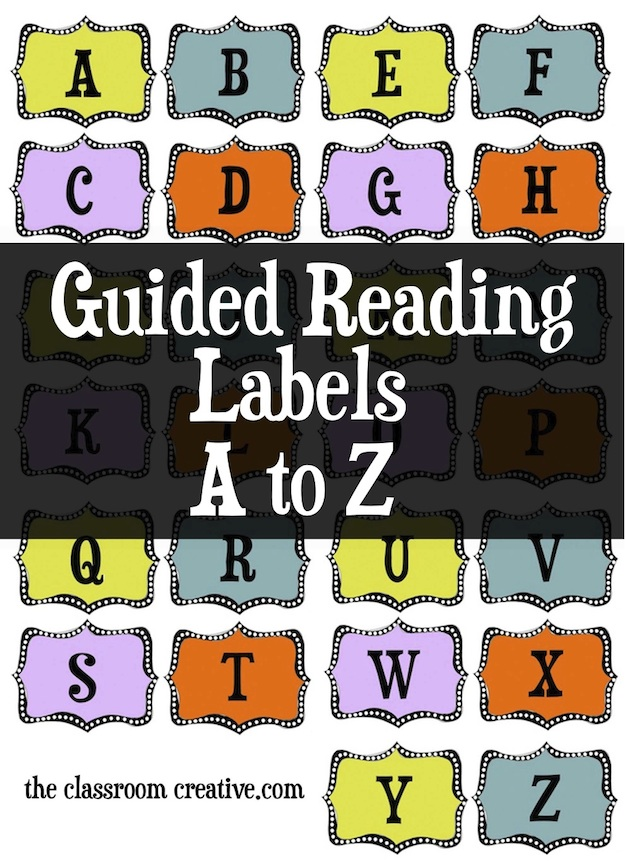 reading labels printable a to z, alphabet labels for book bins