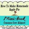 Homemade Apple Pie Mini-book