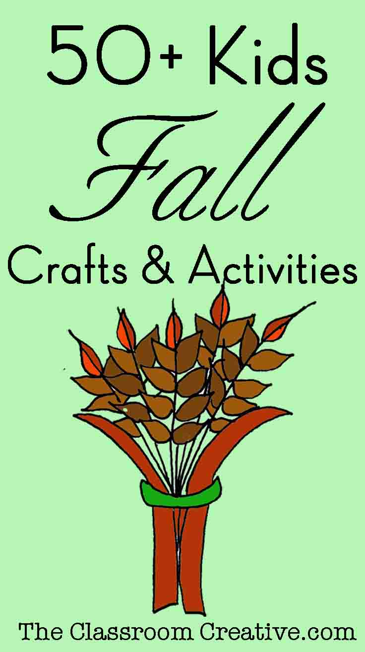 50 Fall Crafts & Activities for Kids